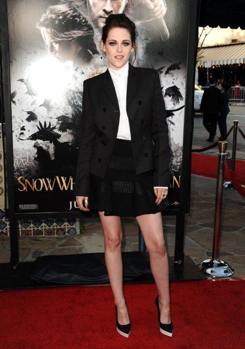 Kristen Stewart Snow White and the Huntsman Los Angeles screening May 2012