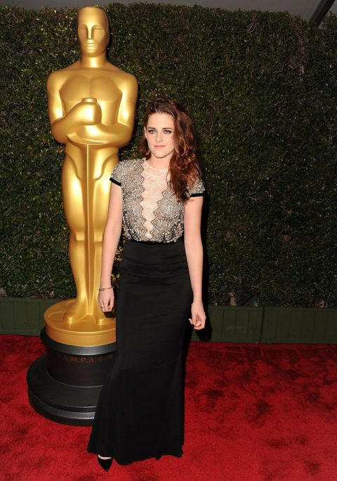 Kristen Stewart The Academy of Motion Pictures Arts and Sciences Governors Award December 2012