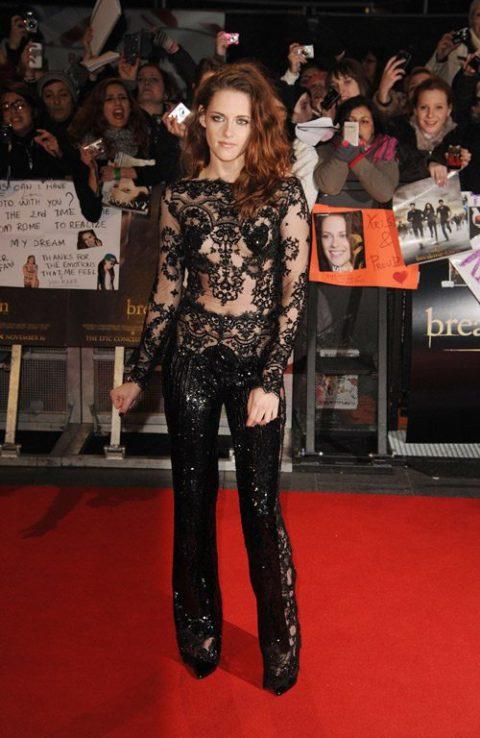 Kristen Stewart Twilight Breaking Dawn Part Two London Premiere November 2012