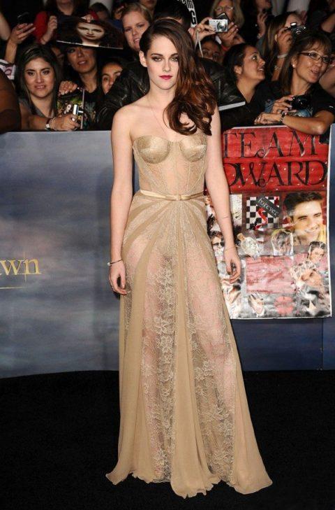 Kristen Stewart Twilight Breaking Dawn Part Two Los Angeles Premiere November 2012