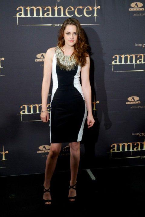 Kristen Stewart Twilight Breaking Dawn Part Two Madrid Photocall November 2012