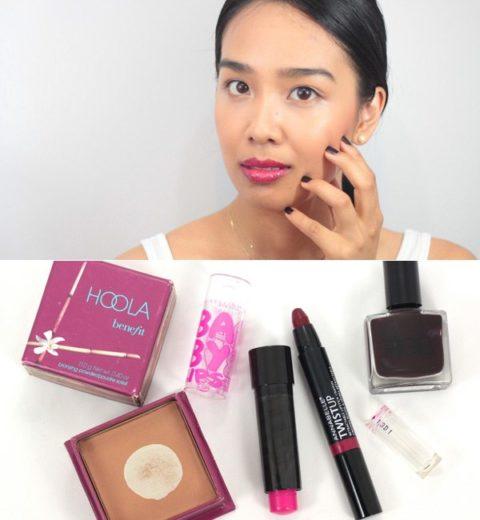fall transition makeup aleeza