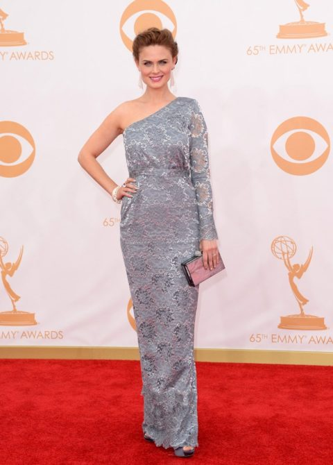 Emmys 2013 Emily Deschanel