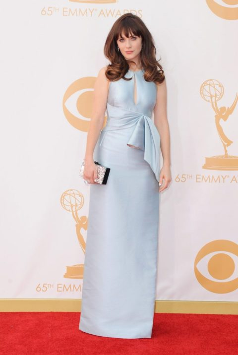 Emmys 2013 Zooey Deschanel
