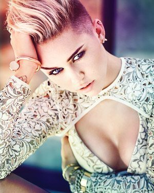 FASHION Magazine November Cover Miley Cyrus