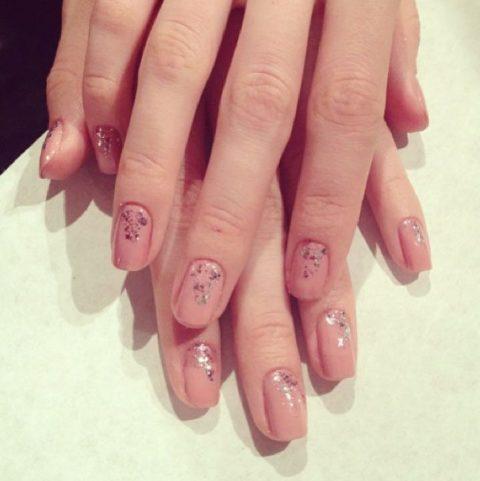 Jenny Packham Spring 2014 nails