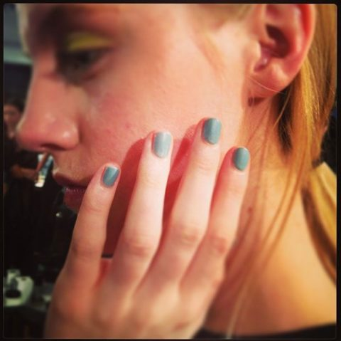 Lela Rose Spring 2014 nails