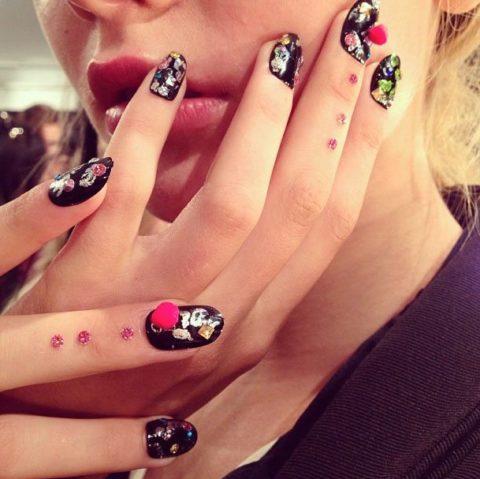 Libertine Spring 2014 nails