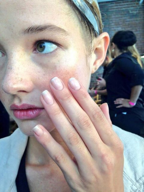 Louise Goldin Spring 2014 nails