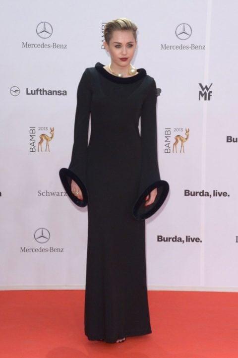 Miley Cyrus Bambi Awards Red Carpet