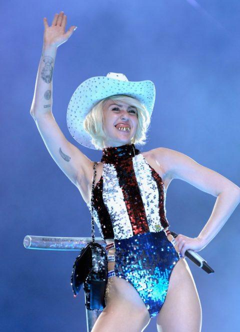 Miley Cyrus Bangerz Tour American Flag Sequin