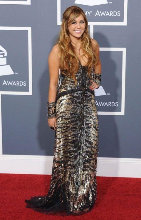 Miley Cyrus Grammy Awards February 2011