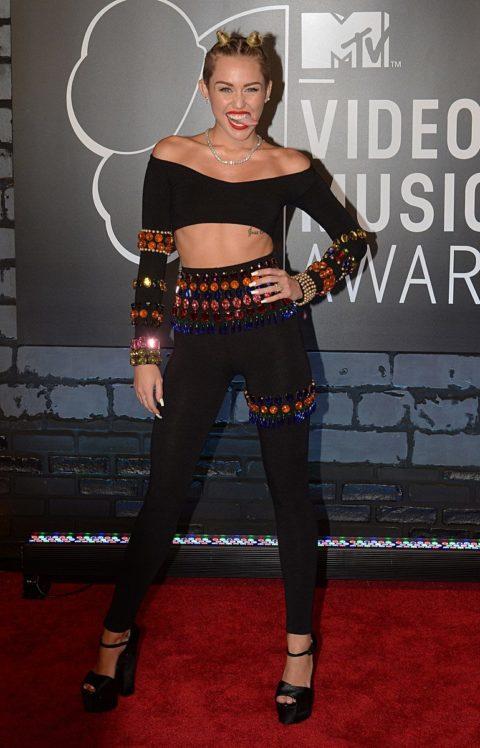 Miley Cyrus MTV MVAs August 2013