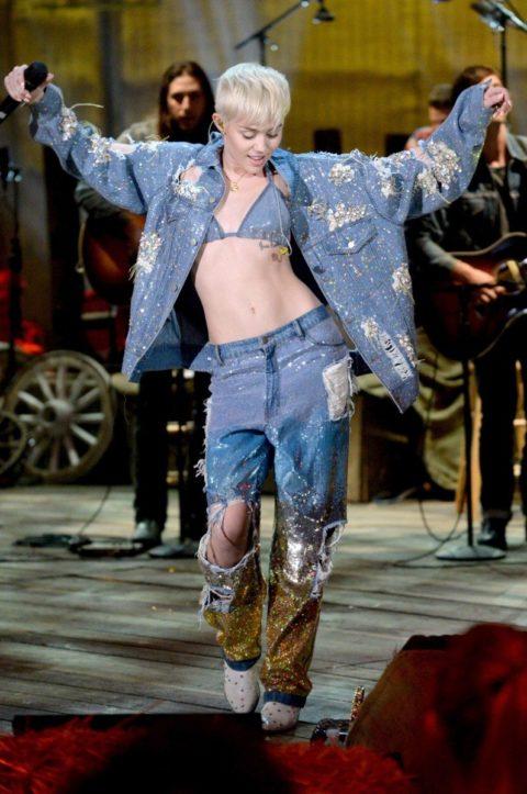 Miley Cyrus MTV Unplugged Denim