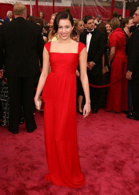 Miley Cyrus Oscars February 2009