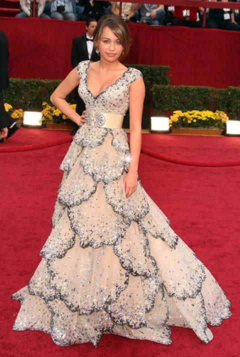 Miley Cyrus Oscars January 2009