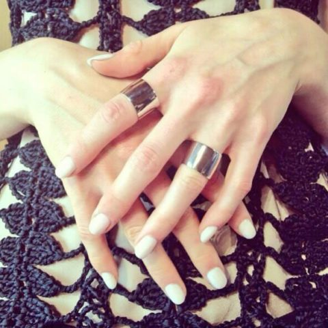 Nellie Partow Spring 2014 nails