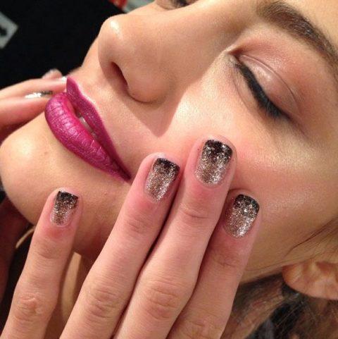 Nicole Miller Spring 2014 nails