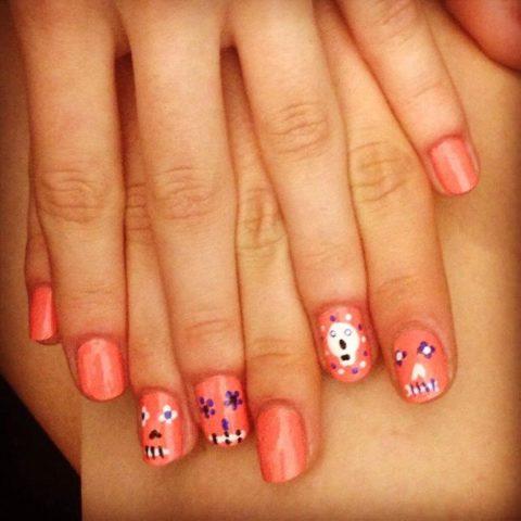 Rebecca Minkoff Spring 2014 nails