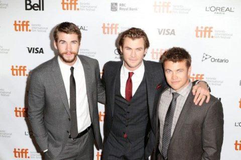 TIFF 2013 Liam Chris Hemsworth