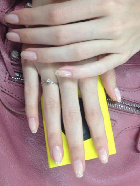Theyskens Theory Spring 2014 nails