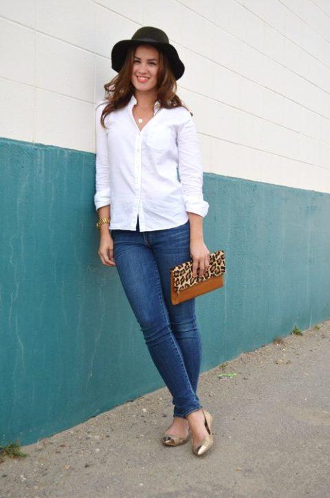 White Shirt Melanie Morais
