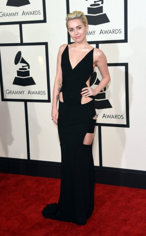 Miley Cyrus style Grammys