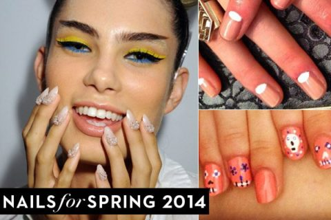 new york fashion week spring 2014 nails