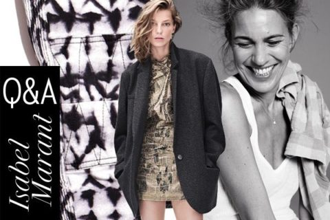 Isabel Marant for H&M Interview