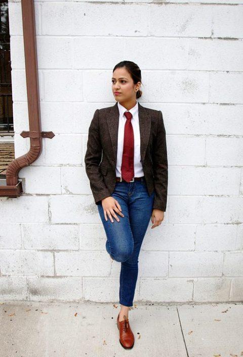 Menswear Inspired Trend Anum Khan