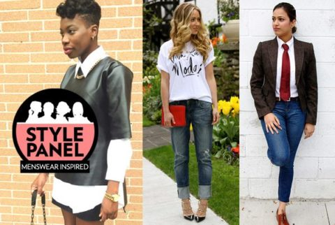 Menswear Inspired Trend Style Panel