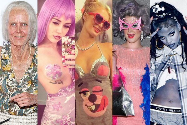 Celebrity Halloween Costumes 2013 The 17 Best From Miley