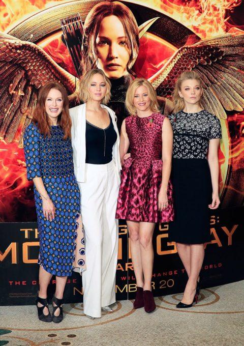 Celebrity Style Jennifer Lawrence Mockingjay Photocall 2014