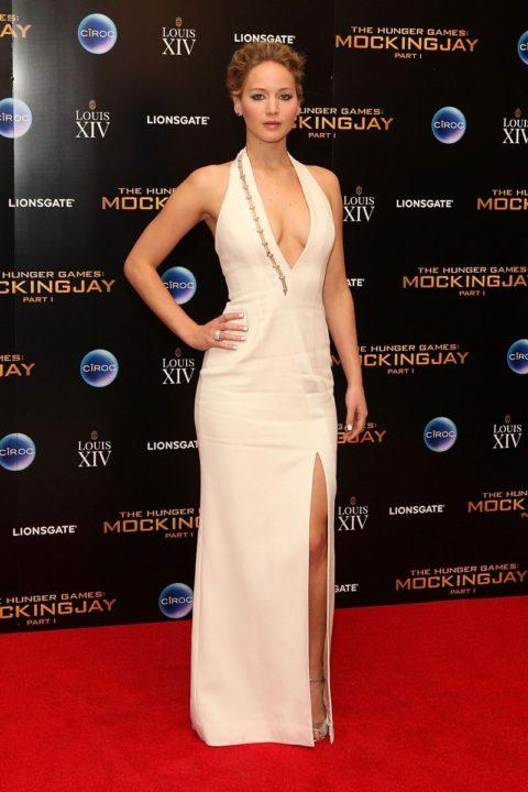 Celebrity Style Jennifer Lawrence Mockingjay Premiere after party 2014
