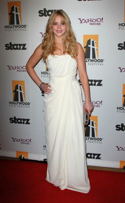 Jennifer Lawrence 14th Annual Hollywood Awards Gala