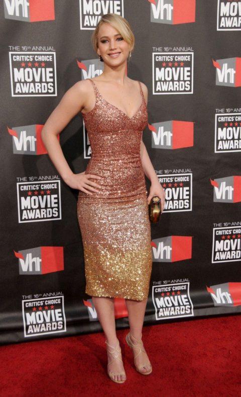 Jennifer Lawrence 16th Annual Critics Choice Movie Awards January 2011