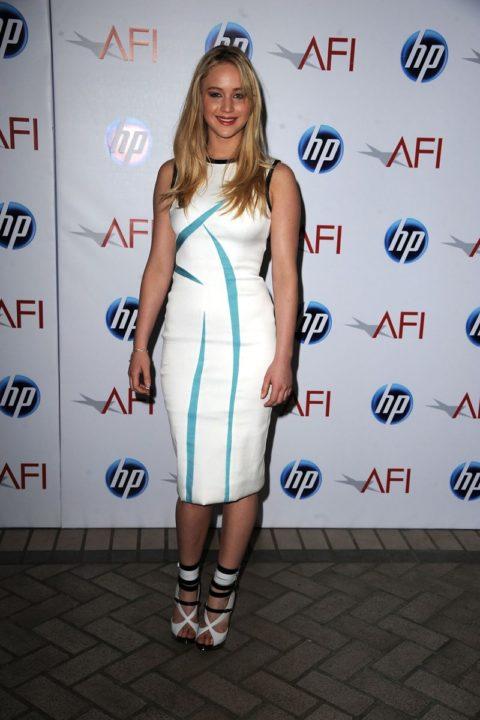 Jennifer Lawrence 2010 AFI Awards Gala January 2011