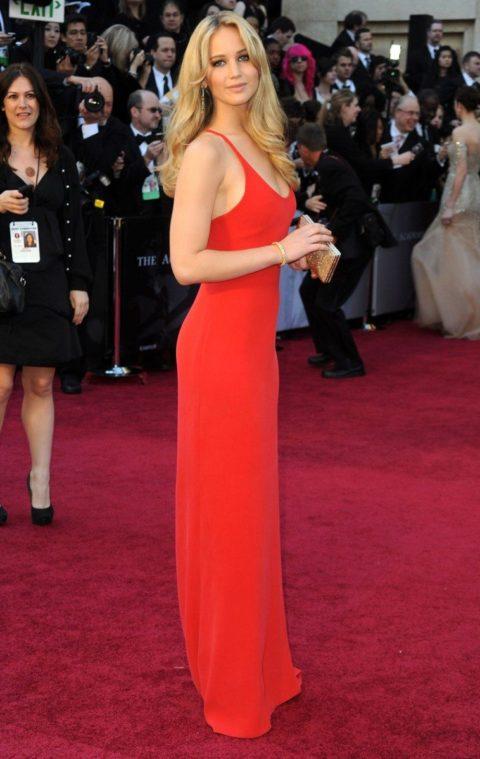 Jennifer Lawrence 2011 Oscars