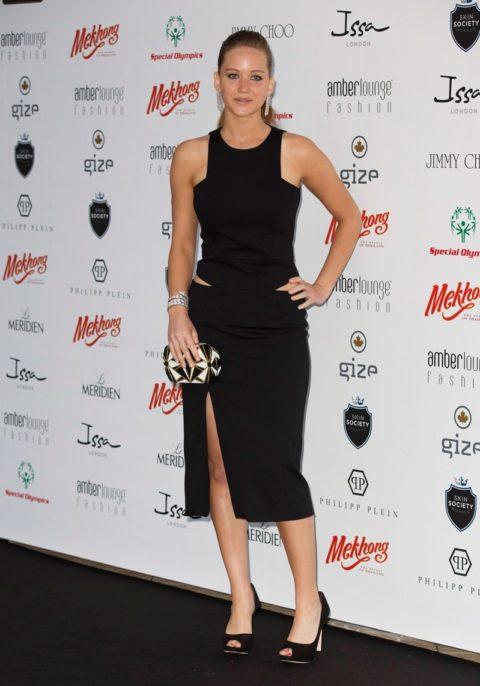 Jennifer Lawrence Amber Lounge Fashion Show Monaco May 2012