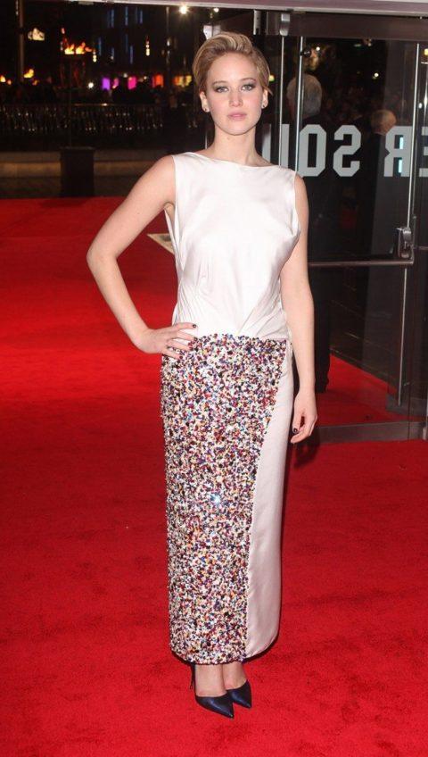 Jennifer Lawrence Catching Fire UK Premier November 2013
