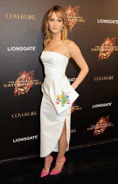 Jennifer Lawrence Catching Fire Premier Cannes 2013