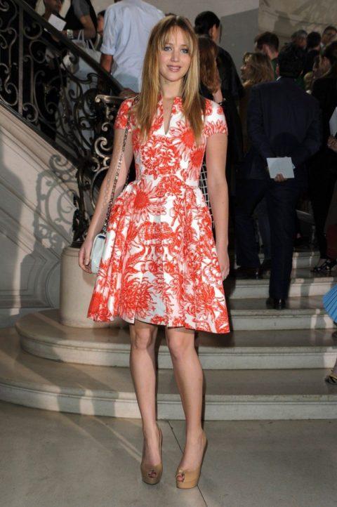Jennifer Lawrence Christian Dior Fashion Show July 2012