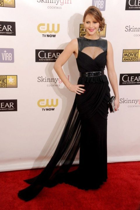 Jennifer Lawrence Critics Choice Awards January 2013