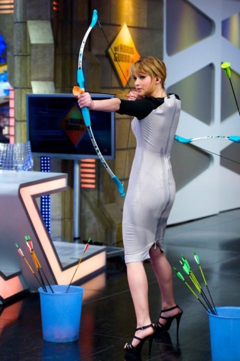Jennifer Lawrence El Hormiguero TV Show April 2012