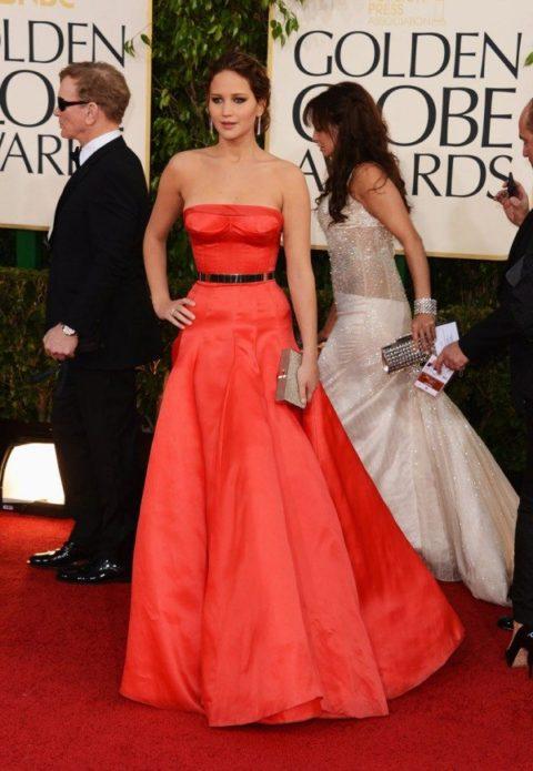 Jennifer Lawrence Golden Globes January 2013
