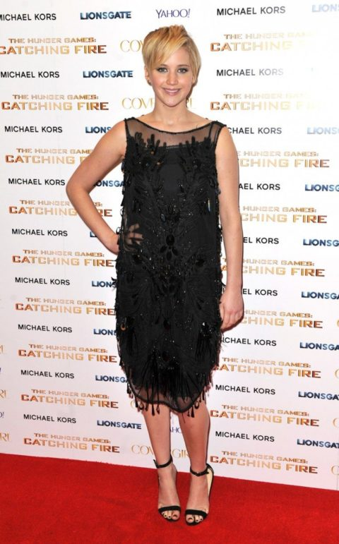 Jennifer Lawrence Hunger Games Catching Fire London After Party November 2013