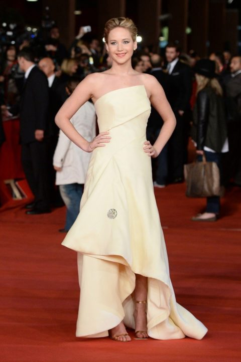 Jennifer Lawrence Hunger Games Catching Fire Rome November 2013