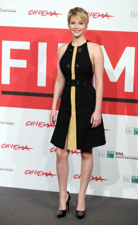 Jennifer Lawrence Hunger Games Rome Film Festival November 2013