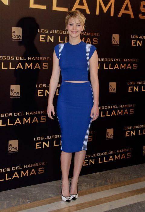 Jennifer Lawrence Hunger Games Villa Magna Madrid November 2013