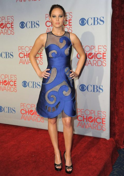 Jennifer Lawrence People Choice Awards January 2012